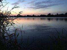 Lake Kuchyňa at dusk #twilight #nature #slovakia