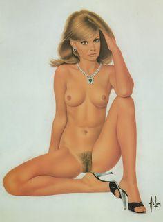 """ASLAN (Alain Gourdon) """"Portfolio Aslan Gourdon 1"""" 1982 NGS   mikitimi-books-prints"""