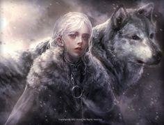 Daughter of Jon Snow and Daenerys Targaryen Game Of Thrones