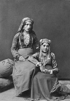 Armenian Women. My mother's family is Armenian. Their traditional costumes are beautiful..