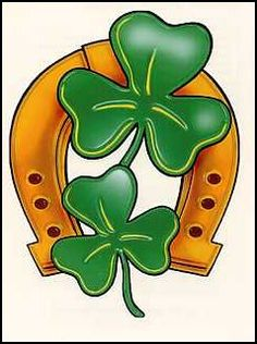 Thinking about getting this, but with a silver horseshoe, and 3 clovers. And in each clover, the name of my family. William, Angela and Ryann.