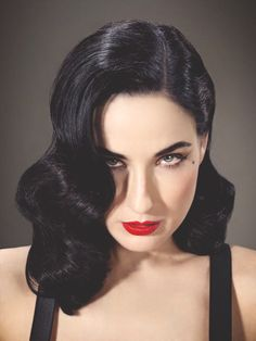 one of my heroes, Dita Von Teese