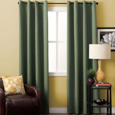 Ricardo Trading Ultimate Blackout Grommet Top Panel Diy Blackout Curtains, Drapes And Blinds, Dark Curtains, Blackout Panels, Panel Curtains, Curtain Panels, Thermal Drapes, Insulated Curtains, Curtain Styles