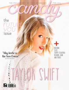 Taylor Swift – Candy Philippines Magazine (March 2016)