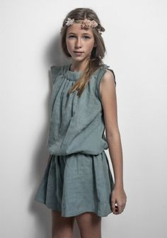 beautiful fabrics, simple silhouettes and extraordinary colors. Labube #girls #fashion