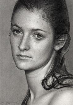 "Saatchi Art Artist: Dirk Dzimirsky; Graphite 2011 Drawing ""Season Change"""