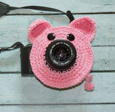 The Original Lens Buddy Collection by Stella Bs, Lil Sue Pig, Photo Prop. $14.00, via Etsy.