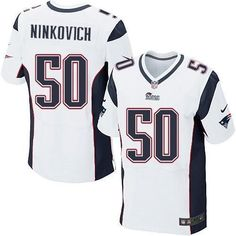 Rob Ninkovich # 50 Nike Elite NFL football jersey ( white)