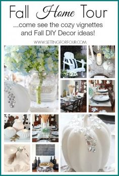 See My Fall Home Tour Cozy Vignettes And Lots Of DIY Decorating Tips