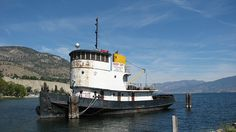Tug Boat in Okanagan Lake. Ask our Century 21 Realtors about our amazing lakefront and waterfront property for sale in Kelowna, Vernon and the Shuswap. Bass Fishing, Fishing Boats, Waterfront Property For Sale, Oil Platform, Offshore Boats, Vancouver City, Paddle Boat, Tug Boats, Rafting