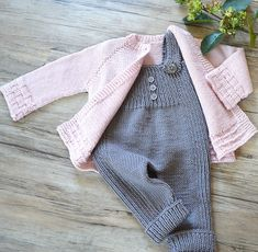 Outfit would be suitable for baby girl or baby boy shared on the LoveKnitting Community. Find more inspiration and share your own projects at LoveKnitting.Com.