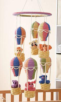 Balloon Mobile. Crochet World. February 2012.