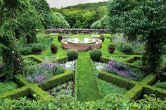 Anne Bass' Connecticut medicinal garden is a true masterpiece.   Madison Cox Garden Design ViaOberto Gili for WSJ