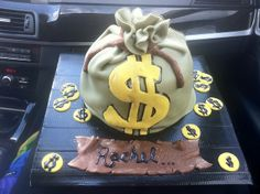 Money bag cake | Flickr - Photo Sharing!