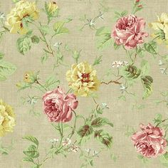 Willow Cottage Wallpaper - Brewster Home Fashions