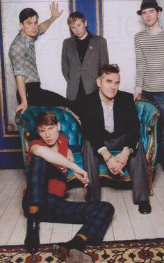 Morrissey insieme ai Franz Ferdinand  www.madmodpop.blogspot.com