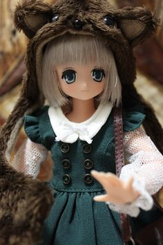 Azone doll: Little wolf Koron By Mes Crazy Experiences