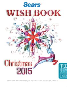 Picked up my Christmas 2015 #SearsWishList Book. #searswishlist