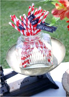 BBQ party printables & DIY decor