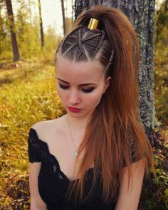 Country Hairstyles, Unique Hairstyles, Braided Hairstyles, Messy Ponytail, Edgy Hair, Hair Pictures, Hair Inspiration, Short Hair Styles, Hair Makeup