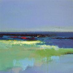 "Daily Paintworks - ""Landscape 165"" - Original Fine Art for Sale - © Ewa Kunicka"