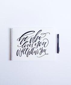 Handlettering by Courtney Shelton