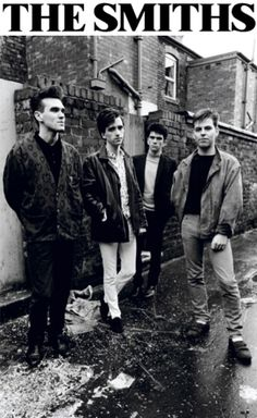 Morrissey, Johnny Marr, Mike Joyce and Andy Rourke
