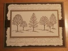 Stampin Up Handmade Greeting ... lovely as a tree card