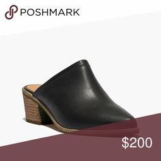 ISO Madewell Robin Mule Size 9.5 or 10 Please let me know if you have a pair that you're willing to part with! Madewell Shoes Mules & Clogs