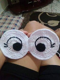 graficos de olhos de coruja em croche - Pesquisa Google