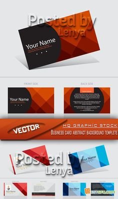 Simple business card templates eps business card template stock vector business card abstract background templete reheart Image collections