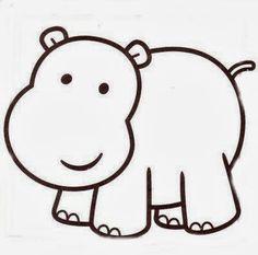 Cris Mandarini: Riscos de hipopótamos