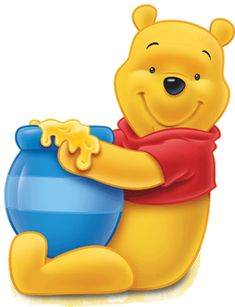 This looks like an easy Pooh to free hand and fill in with tiny stars for Ashlee's baby shower cake. Yay! -CAS winnie the pooh - Google Search