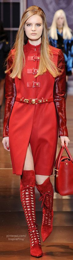 Marie B recommended by Premla M.   (Fall 2014 RTW Versace Collection).