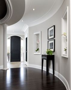 Home Decor and Interior Design. We have these 2 nooks!! I love idea of painting them white....hmmm