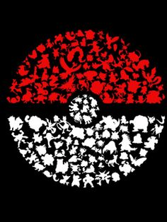 Pokeball with the original Pokemon. Pretty awesome, can you spot'em all?