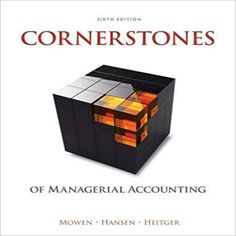 Test bank solutions for australian financial accounting 7th edition cornerstones of managerial accounting 6th edition by maryanne m mowen don r hansen fandeluxe Choice Image