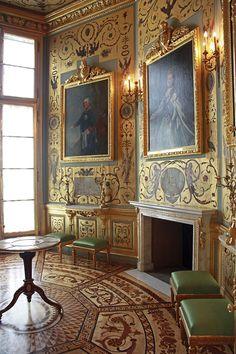 Yellow Chamber, Royal Castle - Warsaw, Poland
