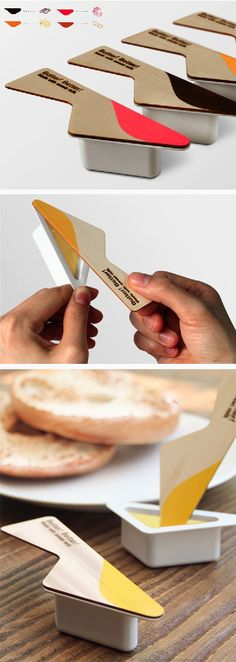 Creative Butter Packaging.