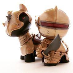 Custom @kidrobot toys by Fiona Ng a.k.a @darthasterisk