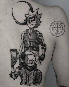 Geek tattoo: faça tatuagens geeks com quem entende! - Blog Tattoo2me Estilo Geek, Geeks, Geek Stuff, Comic Book Characters, Get A Tattoo, Knifes, Cartoons, Character, Tattoos