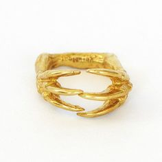 Dino Claw Ring now featured on Fab.