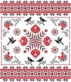 Ukrainian Cross stitch cloth