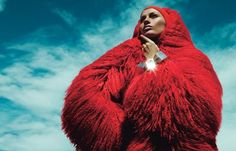'Kiss The Sky' was photographed by Mert Alas & Marcus Piggott. I can't get over the colors and the textures.