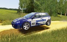 Assetto Corsa - WRC Ford Focus RS 2001 at Rally Poland Shakdown Gravel V0 8