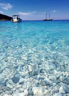 Look at these clear waters in Ithaca, Greece! : Look at these clear waters in Ithaca, Greece! Dream Vacations, Vacation Spots, Vacation Days, Places To Travel, Places To See, Travel Destinations, Ithaca Greece, Destination Voyage, Travel Aesthetic