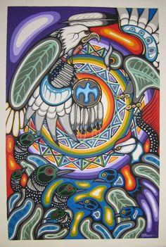 Circle of Life   by Lloyd Kakepetum