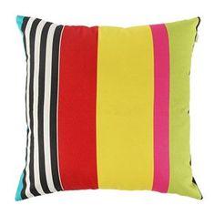 Almofada Listra Color  Almofada pra mim tem que ser gostosa.... Esta linha de almofadas de sarja de algodão é extremamente confortável e bonita. Com diversas cores e modelos, escolha a que melhor se enquadra a seu ambiente. Mede 50cm x 50cm  R$ 86,00