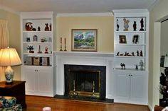 fireplace & built-ins