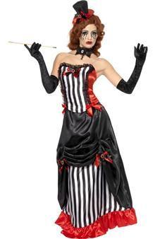 Avec ce déguisement, vous pourrez entrer dans la peau d'une tenancière de cabaret des années 30, répondant au nom de Madame Vamp